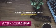 jf The Hub: a new modern responsive free Joomla! Template