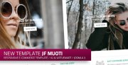 jf Muoti: a new responsive free e-commerce Joomla! & Virtuemart Template