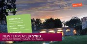 jf sybix: a new free responsive single property Joomla! Template