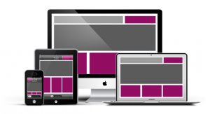 Responsive templates for creating a website with Joomla